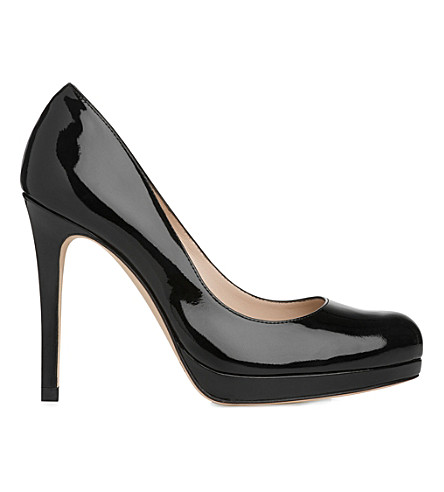 LK BENNETT Sledge patent-leather courts (Bla-black