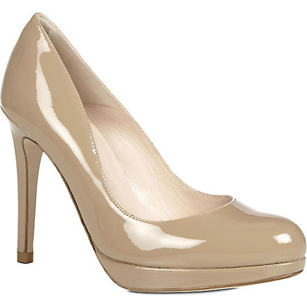 LK BENNETT Sledge leather courts (Taupe