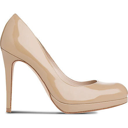 LK BENNETT Sledge leather courts (Tau-taupe