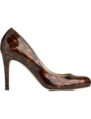 LK BENNETT Stila saffiano court shoes