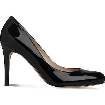 LK BENNETT Stila round toe heels (Bla-black