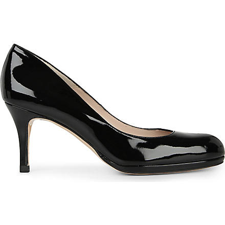LK BENNETT Sybila mid-heel court shoes (Black