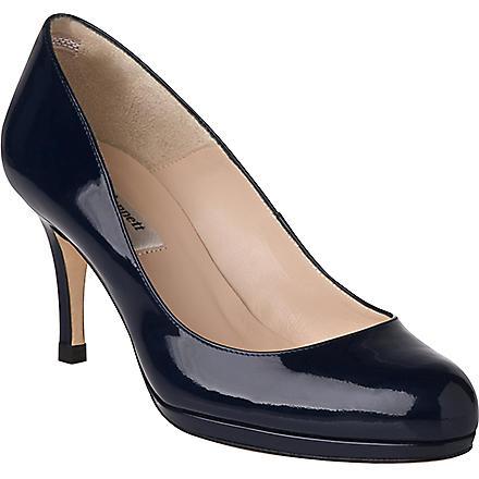 LK BENNETT Sybila patent leather courts (Blu-navy