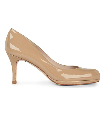 LK BENNETT Sybila patent leather courts (Taupe