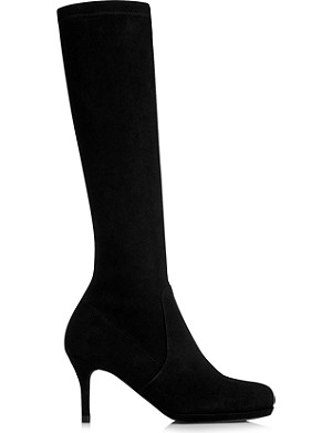 LK BENNETT Sylvie round toe platform boots