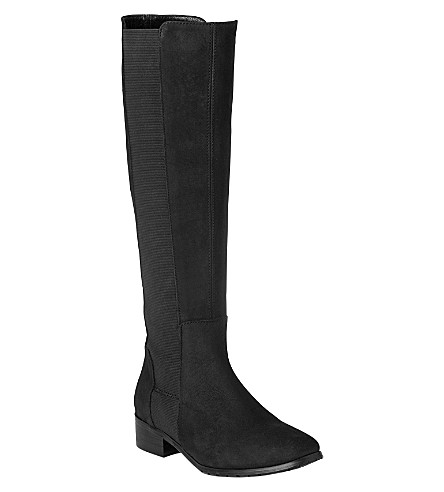 LK BENNETT Toni knee-high boots (Bla-black