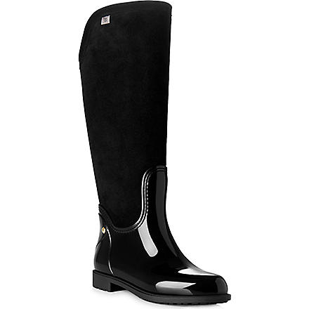 LK BENNETT Willow wellies (Bla-black