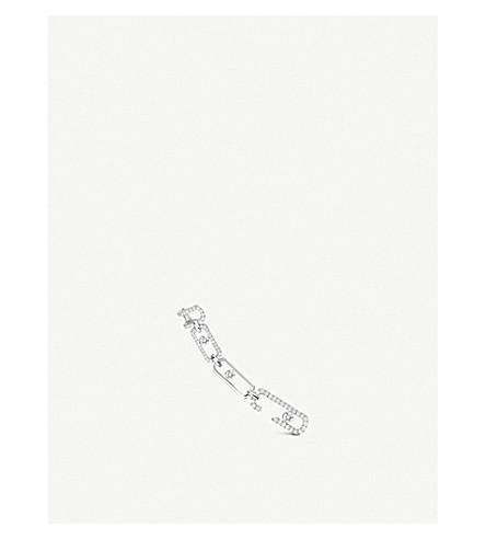 MESSIKA MOVE 18-CARAT WHITE GOLD DIAMOND EARRINGS