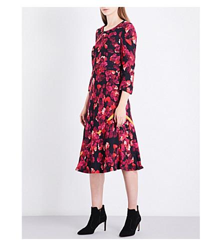 LK BENNETT L.K. Bennett x Preen Syd crepe dress (Pin-pink