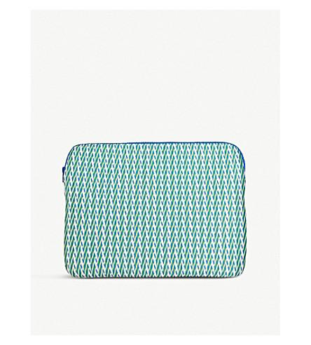SODA Sally Cheung Evergreen geometric laptop case 27cm