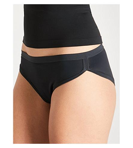 orgánico THINX SODA de calzoncillos elástico negro algodón qAAXd