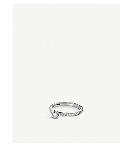 BUCHERER FINE JEWELLERY Joy 18ct white gold and diamond ring