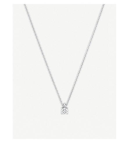 BUCHERER FINE JEWELLERY Joy 18ct white gold and diamond necklace