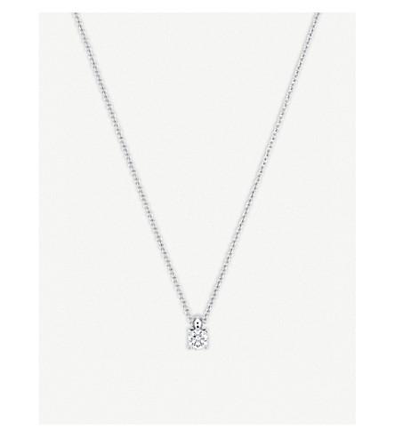 BUCHERER FINE JEWELLERY Joy 18ct white gold and diamond necklace