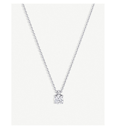 BUCHERER FINE JEWELLERY Joy Anchor 18ct white-gold and diamond necklace