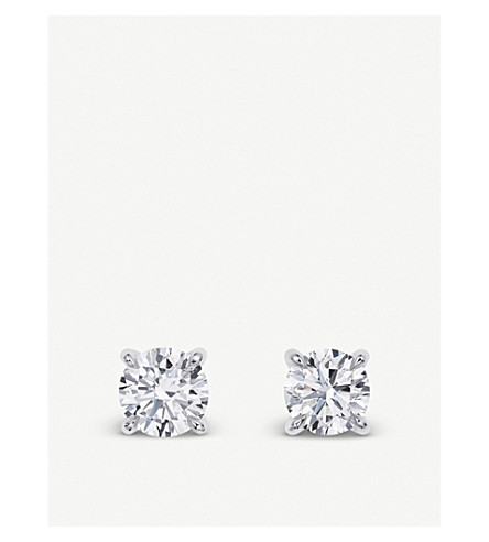 BUCHERER FINE JEWELLERY Joy 18ct white-gold diamond earrings