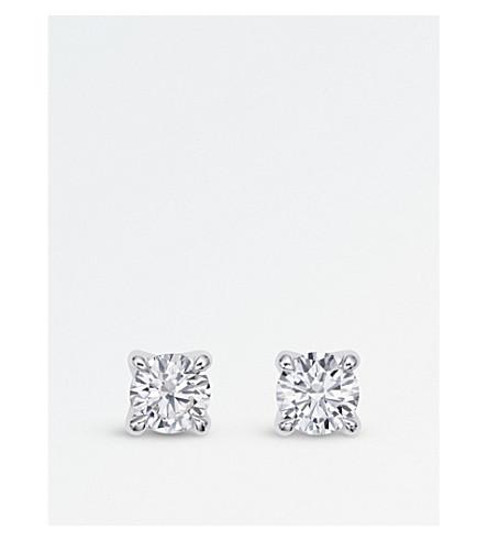 BUCHERER FINE JEWELLERY Joy 18ct white-gold diamond earrings
