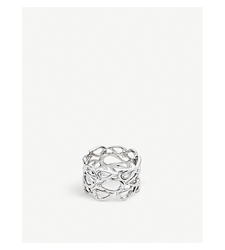 BUCHERER FINE JEWELLERY 18ct white-gold ring