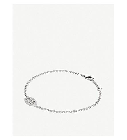 BUCHERER FINE JEWELLERY 18ct white-gold and diamond bracelet