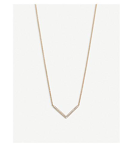 BUCHERER FINE JEWELLERY Geometrix 18ct rose-gold and diamond necklace