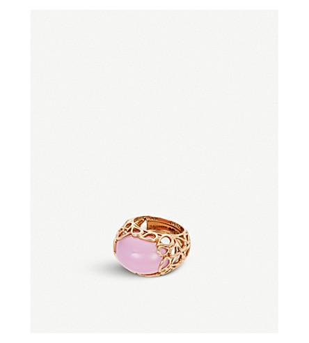 BUCHERER FINE JEWELLERY Lacrima 18ct rose-gold and diamond ring