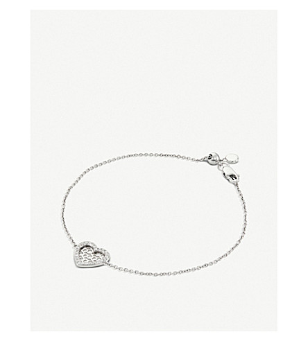 BUCHERER FINE JEWELLERY Infinite Love 18ct white-gold diamond bracelet