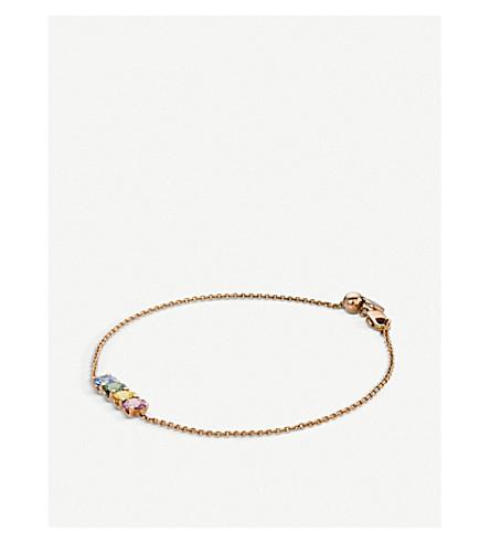 BUCHERER FINE JEWELLERY Pastello 18ct rose-gold bracelet