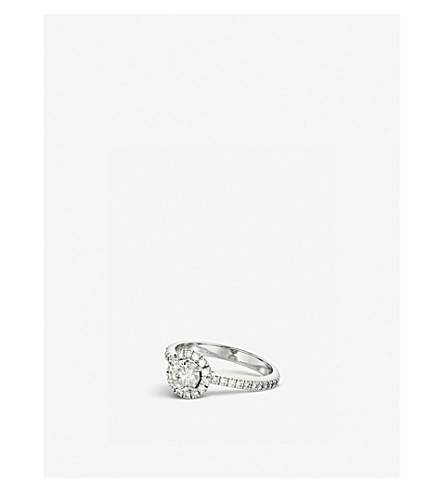BUCHERER FINE JEWELLERY Solitaire 18K white gold and diamond ring