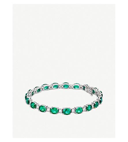 BUCHERER 高级珠宝18k 白金钻石手链
