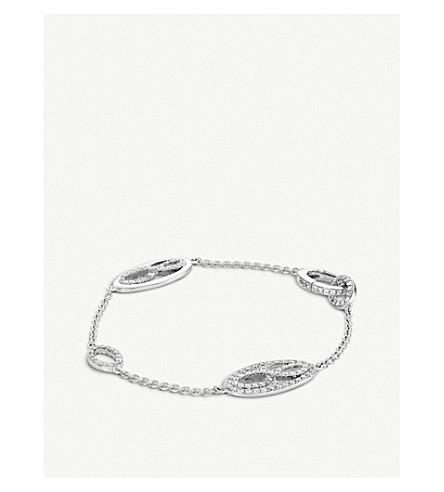 BUCHERER 高级珠宝 Vivelle 18ct 白金钻石手链
