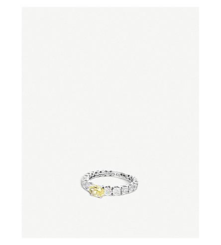 BUCHERER FINE JEWELLERY Classics 18ct white-gold diamond ring