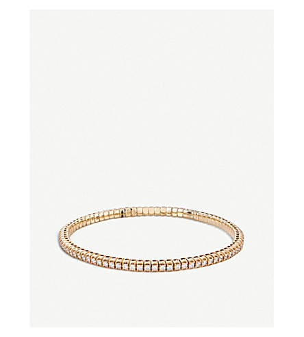 BUCHERER FINE JEWELLERY Classics 18ct rose-gold diamond bangle