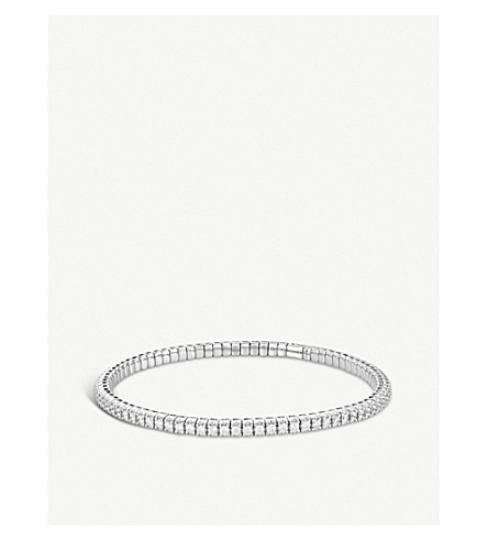 BUCHERER FINE JEWELLERY Classics 18ct white-gold diamond bracelet