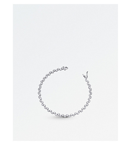 BUCHERER FINE JEWELLERY 18ct white-gold diamond bracelet