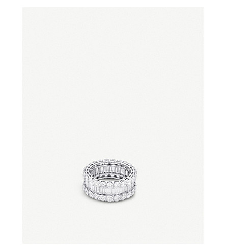 BUCHERER FINE JEWELLERY Classics 18ct white-gold diamond ring