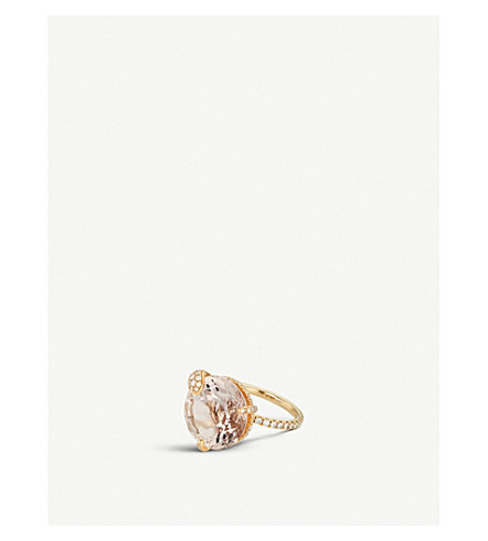 BUCHERER FINE JEWELLERY 18ct rose-gold diamond ring