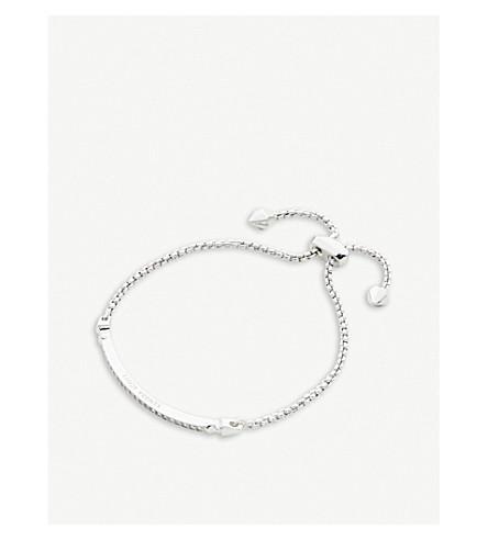 KENDRA SCOTT Ott rhodium-plated chain bracelet (White