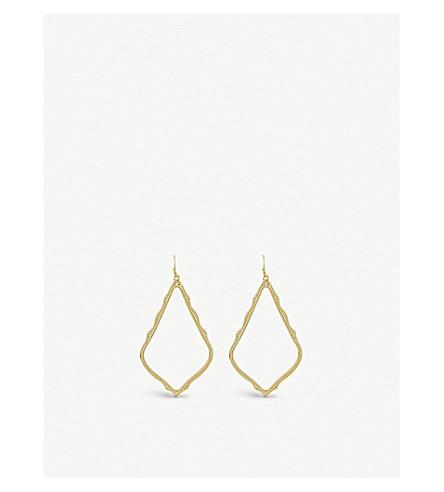 KENDRA SCOTT Sophee gold-plated earrings (Gold