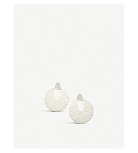 KENDRA SCOTT Diane silver-plated earrings (Bright+silver