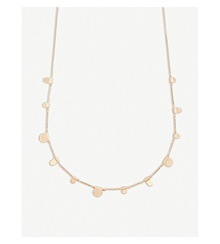KENDRA SCOTT Olive 14ct rose gold-plated necklace (Rose+gold