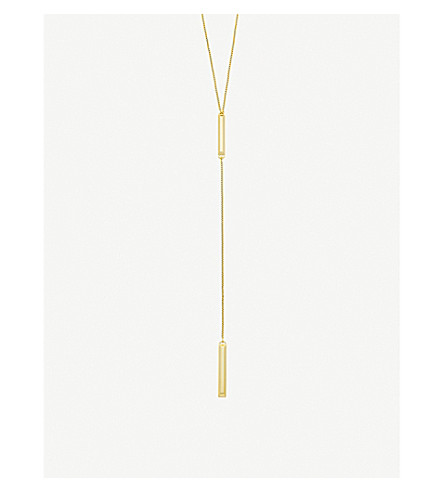 KENDRA SCOTT Shelton 14ct gold-plated necklace (Gold
