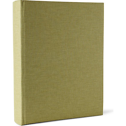 ASPINAL French linen portrait photo album