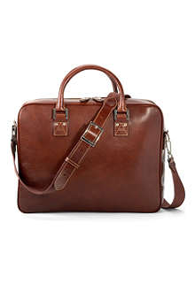 ASPINAL Executive leather laptop and business case