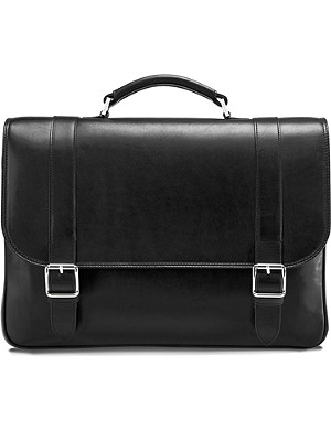 ASPINAL OF LONDON Satchel briefcase for 15