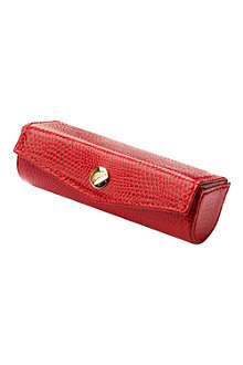 ASPINAL OF LONDON Leather lipstick case
