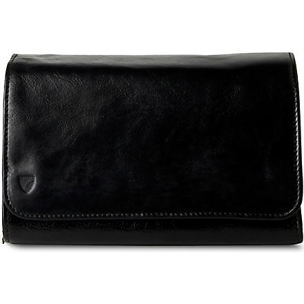 ASPINAL OF LONDON Hanging wash bag (Black