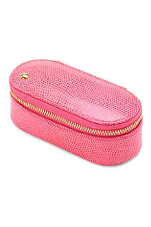 ASPINAL Leather handbag tidy make-up case