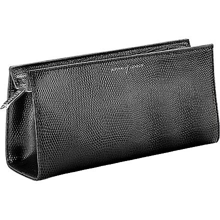 ASPINAL OF LONDON Brush and cosmetic case (Black