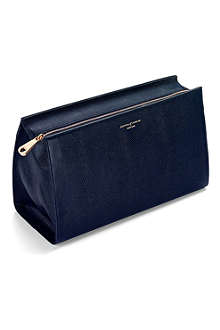 ASPINAL OF LONDON Large leather cosmetic case