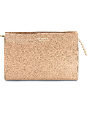 ASPINAL OF LONDON Medium leather cosmetic case